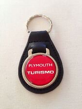 Plymouth Turismo Keychain Leather key chain
