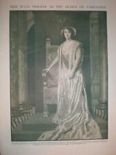 Photo Julia Neilson The Popinjay New Theatre London 1911