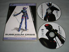 Bubblegum Crisis: Tokyo 2040 Essential Anime Collection 1 DVD 2-Disc Set in Case