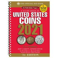 2021 Red Book Official Price Guide of US Coins Spiral Bound Coin Value Prices