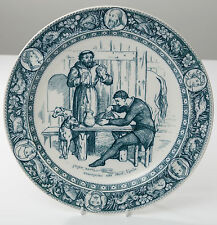 A Wedgwood Series Ware Plate - Friar Tuck from Ivanhoe - Antique