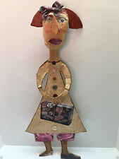JULIA ARKELL  Miss Molly Paper Mache and Collage