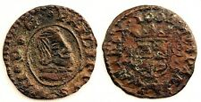 Spain-Felipe IV. 8 Maravedis 1664. Trujillo. Cobre 1,5 g.