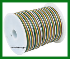 Primary Trailer Light Cable Wiring 16-4 16 Gauge 4 Wire Bonded Parallel 100 Feet