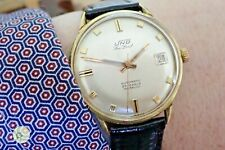 Mens vintage AUTOMATIC Swiss watch UNO SEA LORD  25J SERVICED CA 60 ETA 2472
