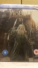 Hobbit: Desolation of Smaug 3D Blu ray Steelbook