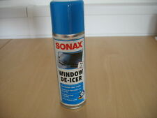 GENUINE SONAX VEHICLE WINDOW / LOCK  DE-ICER SPRAY 300ml WINTER ICE SNOW