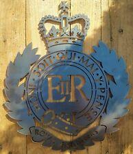 Royal Engineers Badge Sculpture - Solid Steel