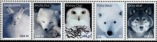 1999 33c Arctic Animals, Strip of 5 Scott 3288-92 Mint F/VF NH