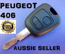 PEUGEOT 406 Key Blank  - 2 Button Replacement Remote Shell