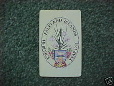 FALKLAND ISLANDS 50u Pcard D4 2nd Issue Heritage - USED