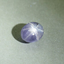 Rare Twin Star Sapphire 4.33 Ct Unheated Certified - 01255