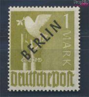 Berlin (West) 17a postfrisch 1948 Schwarzaufdruck (8731803