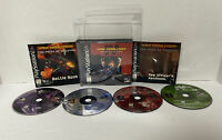 Wing Commander IV 4: The Price of Freedom PlayStation 1 PS1 COMPLETE CIB READ!!!