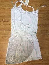 Met Vestito/Abito/Dress Donna/Women Maculato Micro borchie Tg.M