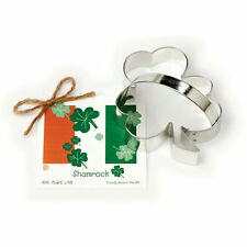SHAMROCK  ~  tin cookie cutter ~ MADE IN THE USA (NEW)