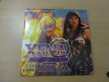 Xena Warrior Princess Calendar 1999