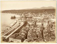 France, Nice, la Jetée-Promenade et la promenade des Anglais, vue panoramique