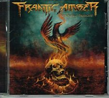 FRANTIC AMBER - BURNING INSIGHT (GMRCD1703) KILLER MELODIC DEATH METAL 2017 CD
