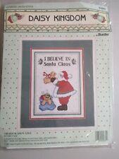 Daisy Kingdom I believe in Santa Claus Counted Cross Stitch NEW