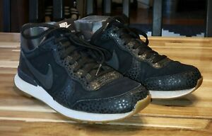 Nike Internationalist Retro Safari Women's Shoes Black Size 7.5 EUR: 38.5