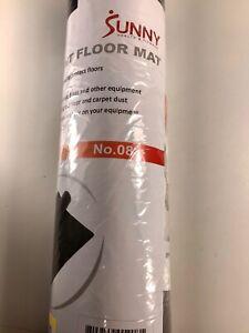 Sunny Health & Fitness Equipment Floor Mat Protect Floor & Extend Equip Life 4x2
