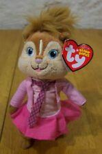 TY Alvin and the Chipmunks BRITTANY CHIPETTE Stuffed Animal NEW