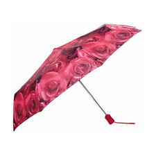 Fulton Photo Rose Red Open & Close-4 Umbrella