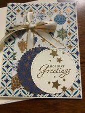 STAMPIN UP! HANDMADE GREETING CARD HOLIDAY GREETINGS CHRISTMAS