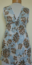 New_Beautiful_Boho Peasant Cotton Tunic Top with Pendant_Free Size_S-M-L