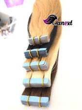 WOW Usbekische Tape  Extensions für Haarverlängerungen  Hair Tape-In extra stark