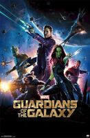 GUARDIANS OF THE GALAXY  ~ WEAPONS 22x34 MOVIE POSTER Star-Lord Rocket Raccoon