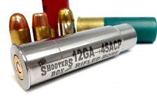 12GA to 45ACP RIFLED Shotgun Adapter - Chamber Reducer - Stainless - Free Ship !