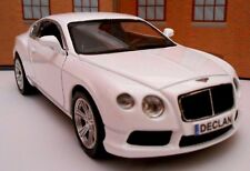 PERSONALISED PLATES BENTLEY Model Toy Car boy girl dad birthday gift BOX & NEW