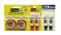 CHAP ICE* (1)  2pc Set LIP BALM Soothes+Protects ORALABS Tubs *YOU CHOOSE* New!