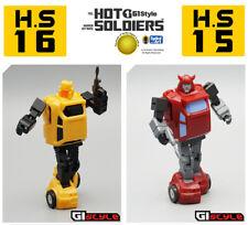 Hot Soldiers  Mech Planet Warrior Hot War Minibot Prop Sky Pillar G1 Style Robot