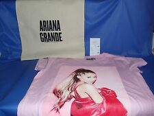 OFFICIAL ARIANA GRANDE DANGEROUS WOMAN TOUR 2017 JUNIORS PINK T-SHIRT + TOTE BAG