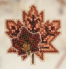 10% Off Mill Hill Autumn Harvest Collection x-stitch/bead Kit - Maple Leaves