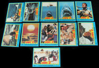 Jaws 2 - Complete 11 Card Sticker Set - 1978 Topps - NM