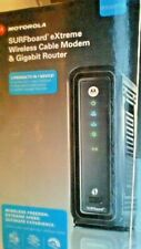 Motorola Surfboard DOCSIS 3.0 Cable Modem/Wi-Fi 5GHz Dual Band Router- SBG6580