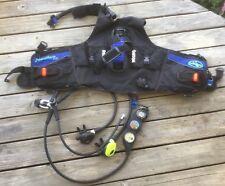 Nautica WD diving vest with Dacor regulators dive computer Estate find
