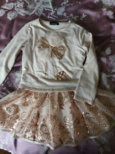 Kate Mack Girls Designer Dress Age 4 Years