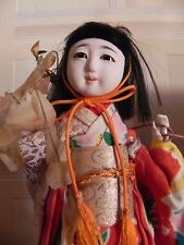 Poupee geisha OOAK de collection,  traditionnelle japon, geisha doll porcelaine
