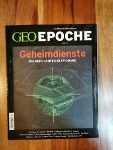 GEO EPOCHE - Nr. 67 - Geheimdienste - Die Geschichte der Spionage