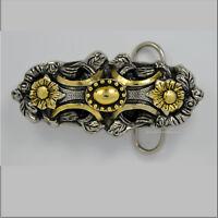 Ornament Mittelalter Belt Buckle Celtic Design Gürtelschnalle *005 gold