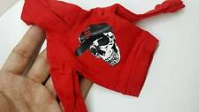 """1/6 scale Custom unBranded Red Hoodie shirt hip hop for 12"""" ACTION figure use"""