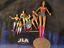 vintage wonder woman doll Lot Of 6
