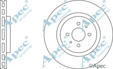 Disques De Frein Avant (Paire) pour Fiat Coupé véritable APEC DSK975