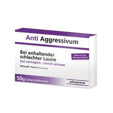 "Schokolinsen Scherztabletten ""Anti Aggressivum"" - Bei schlechter Laune..."