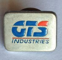 GTS Industries Melbourne Metal Stamping Advertising Pin Badge Rare Vintage (F6)